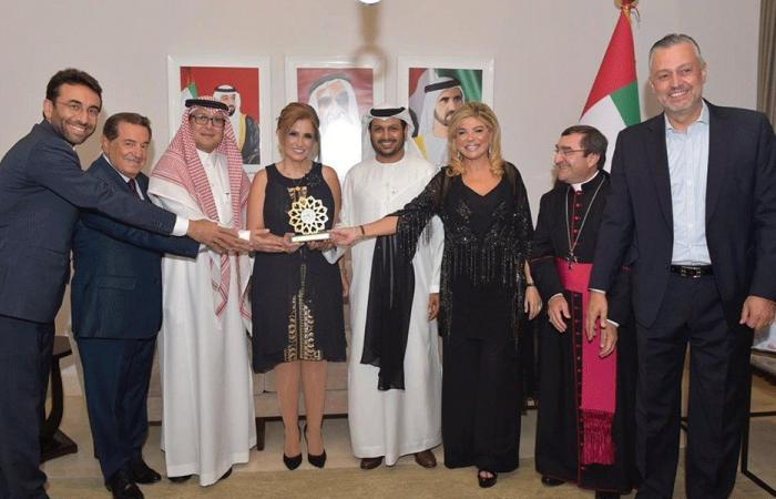 الشامسي: لبنان بلد نموذجي في الانفتاح الاعلامي