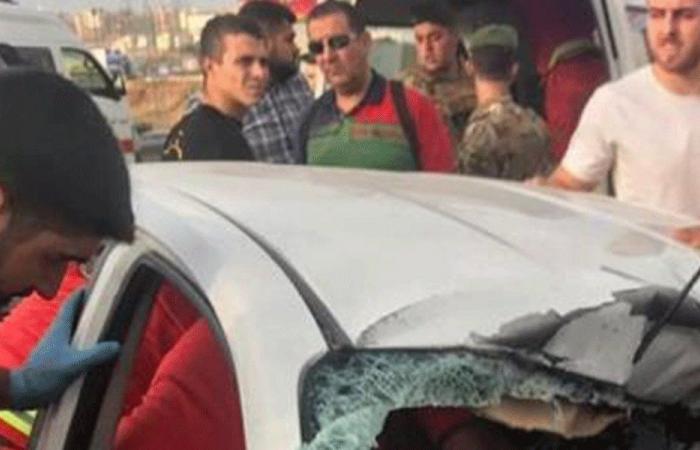 قتيلتان بحادث سير على جسر البالما باتجاه طرابلس