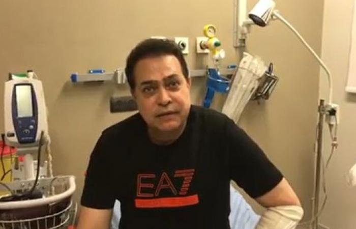 حكيم يتعرض لحادث مروري.. ويوضح ما حصل من المستشفى