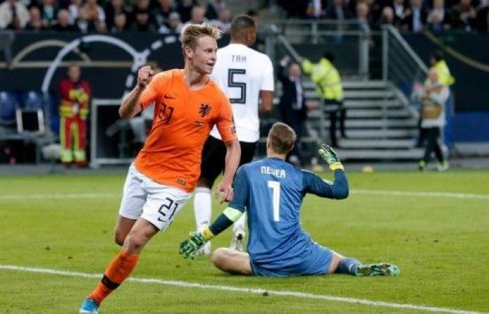 هولندا تثأر من ألمانيا برباعية في تصفيات يورو 2020