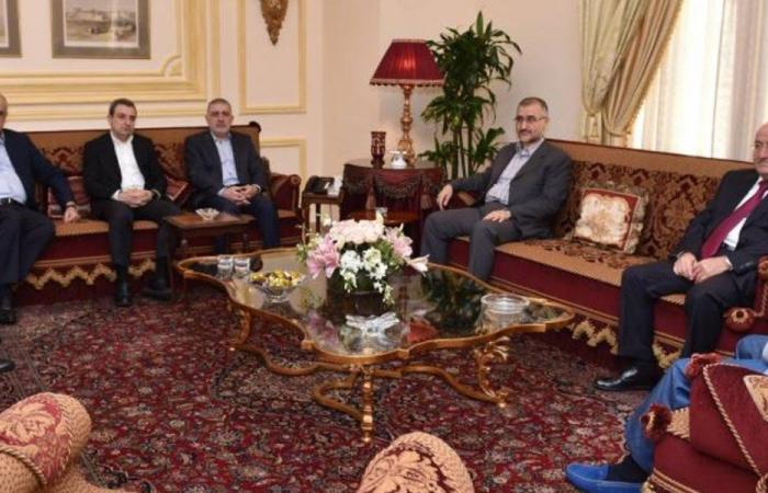 """""""حزب الله"""" و""""الإشتراكي"""": اللقاء بذاته هدف"""