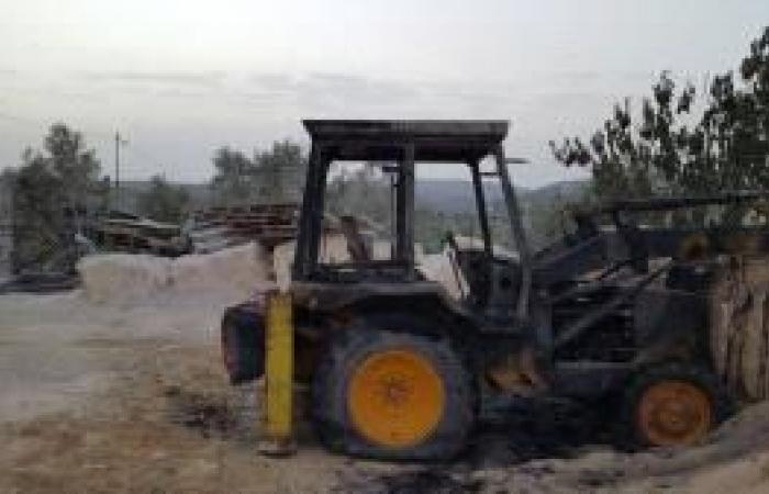 فلسطين | الاحتلال يستولي على جرافة جنوب نابلس