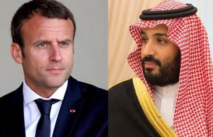 الخليح   محمد بن سلمان وماكرون يبحثان أمن واستقرار المنطقة