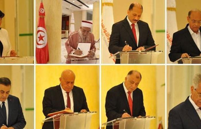 المرشحون لرئاسة تونس يبدأون أول مناظرة في تاريخ البلاد