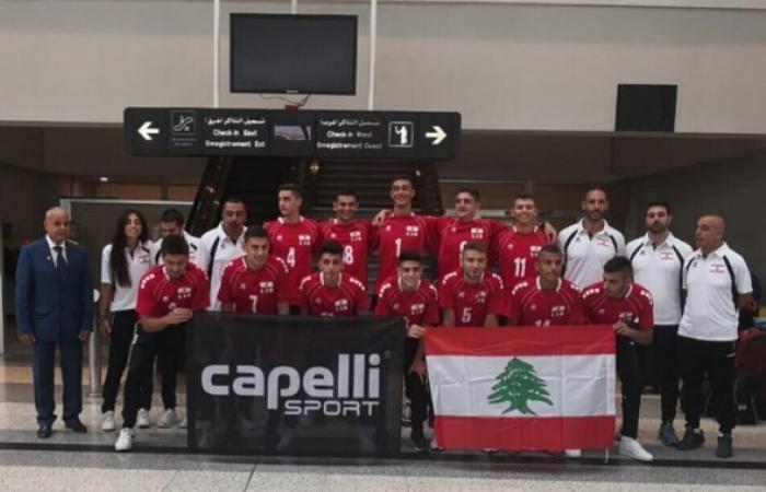 لبنان يواجه مصر الثلاثاء في الدور ربع النهائي