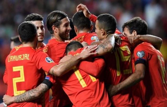 إسبانيا تقسو على فاروه برباعية