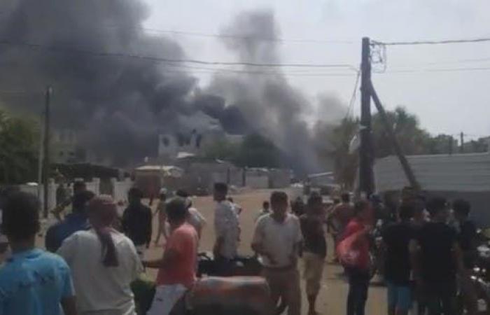اليمن | انفجار مخزن أسلحة ومعمل لصناعة المتفجرات للحوثي بالحديدة
