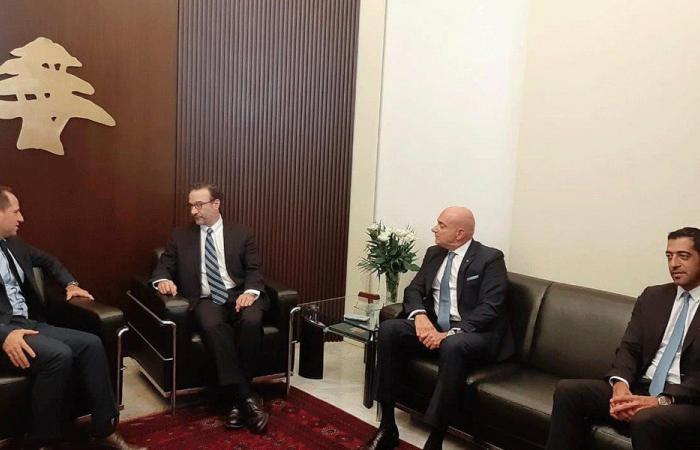 الجميّل التقى شنكر: يجب احترام وتطبيق القرارات الدولية