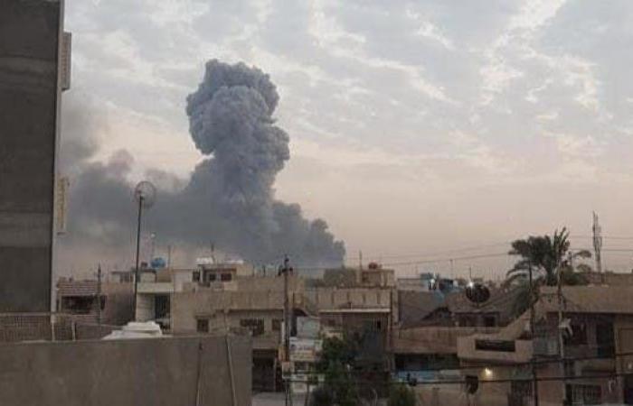 العراق | جديد انفجار مخزن الحشد بالأنبار.. مسؤول يتهم الدرون