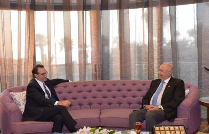 مخزومي التقى شينكر: لبنان يعوّل على التهدئة في المنطقة