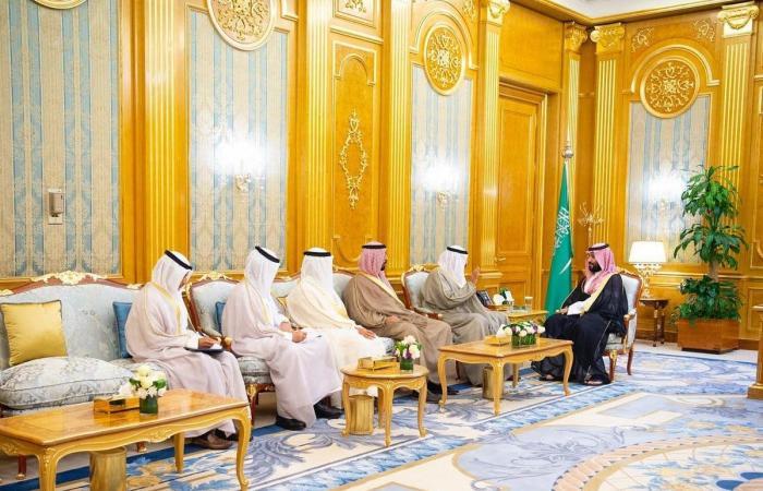 الخليح | ولي العهد السعودي يلتقي وزير خارجية الكويت