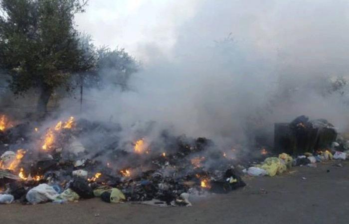 إخماد حرائق في 3 بلدات في قضاء الكورة