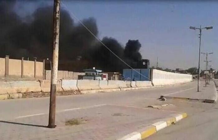 العراق   العراق.. انفجار كبير في مستودع للحشد في الأنبار