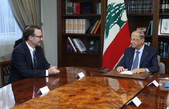 عون: لبنان يأمل استئناف واشنطن وساطتها لترسيم الحدود