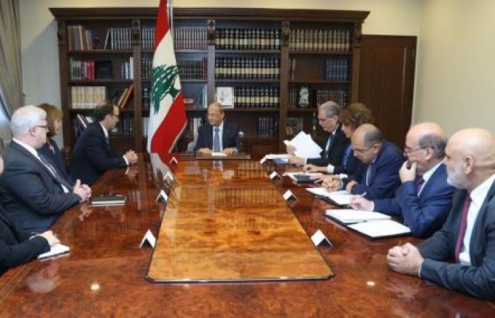 شنكر يبلغ اللبنانيين: مهلة ستة أشهر لترسيم الحدود