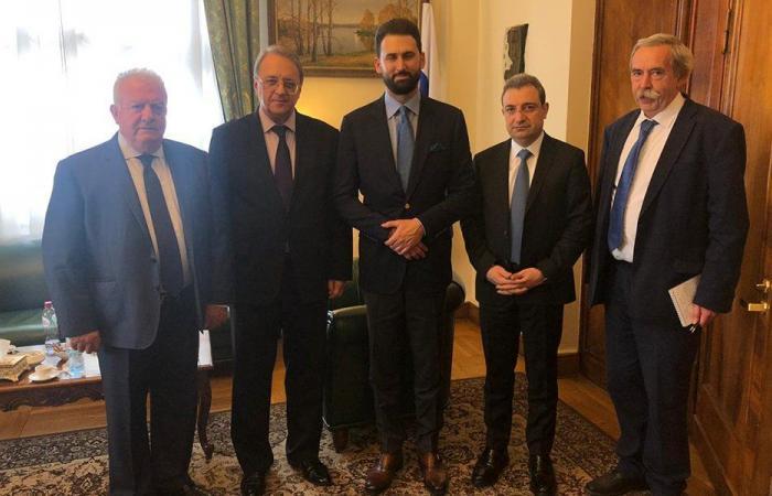 تيمور جنبلاط التقى بوغدانوف في موسكو