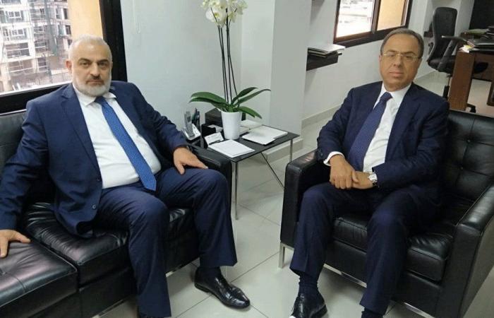 بطيش عرض مع أسعد الحريري الأوضاع الاقتصادية شمالًا