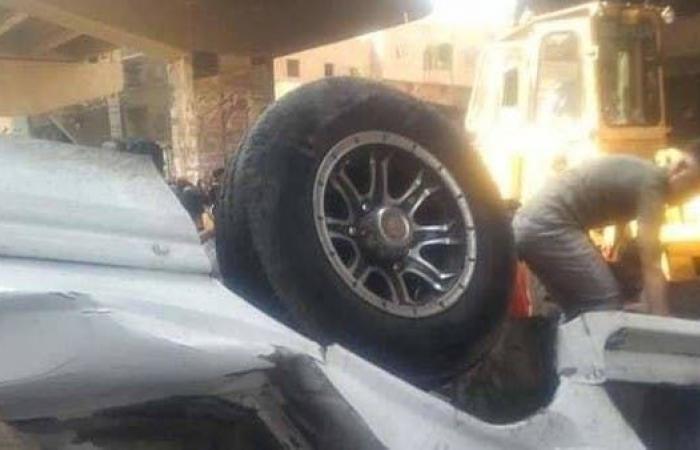 مصر | مصر.. 8 قتلى بحادث سقوط ميكروباص في الجيزة