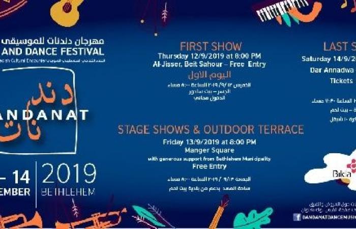 فلسطين | استكمال الاستعدادات لاطلاق فعاليات مهرجان دندنات للموسيقى والرقص