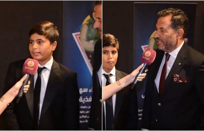 ماجد المصري يكشف كيفية إقحام ابنه بالتمثيل.. ولهذا يلتزم الصمت أمام المنتقدين!