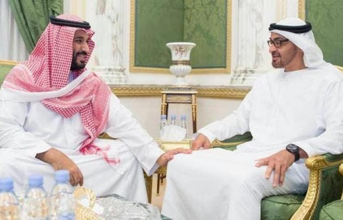 الخليح | محمد بن زايد يؤكد لمحمد بن سلمان وقوف الإمارات مع السعودية وما يمس أمنها