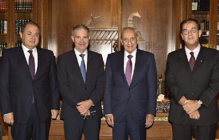 برناسكوني التقى بري: فرنسا إلى جانب لبنان دائمًا