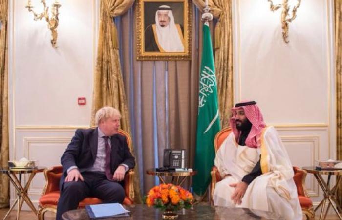 الخليح | جونسون يؤكد لمحمد بن سلمان: وقوف بريطانيا إلى جانب السعودية