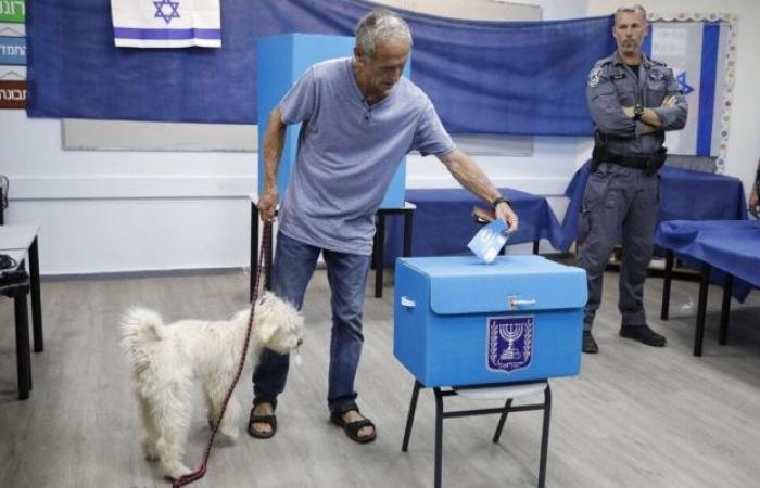 فلسطين   نسبة التصويت في انتخابات الكنيست بلغت 53.5%