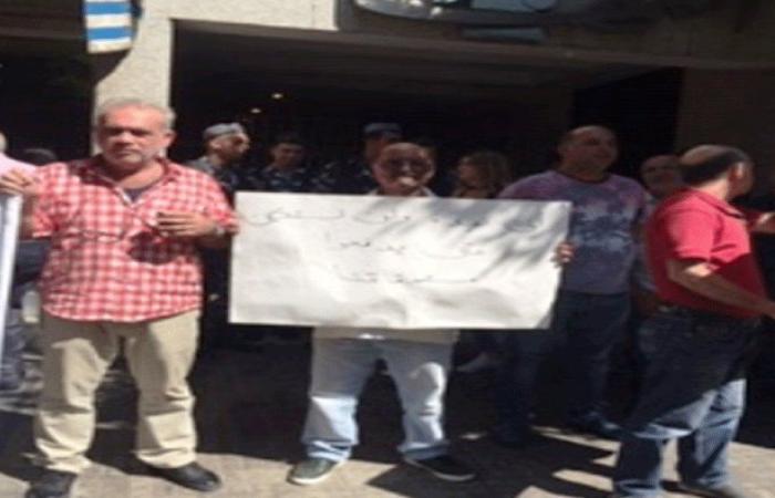 اعتصام لمصروفي التعاونية الصحافية