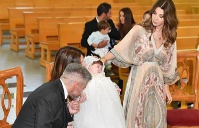 """شقيق نانسي عجرم وابنتها """"ليا"""" يُثيران مواقع التواصل بجمالهما (صور)"""