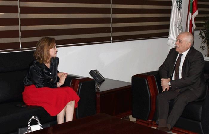 جبق عرض مع جمالي المشاريع الاستشفائية في طرابلس
