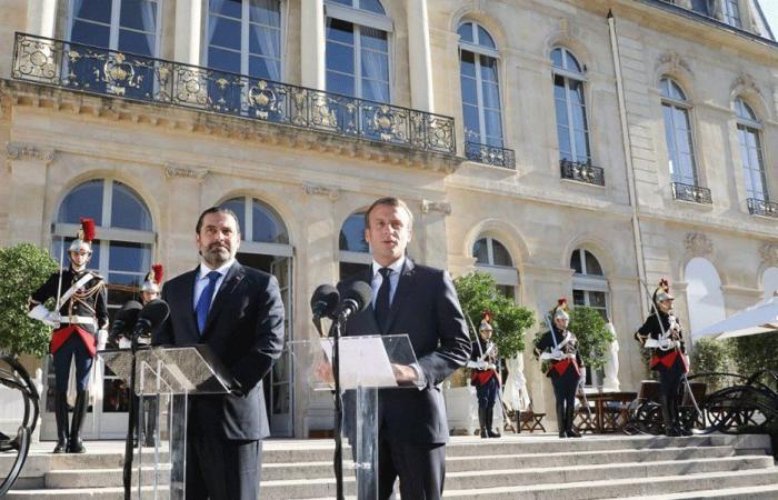 الحريري: ملتزمون بالصلاح.. وماكرون: ماضون بدعم لبنان