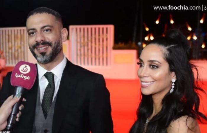 محمد فراج يكشف كواليس إعلان خطوبته في افتتاح مهرجان الجونة.. وبسنت: الخبر أزعج معجباته!