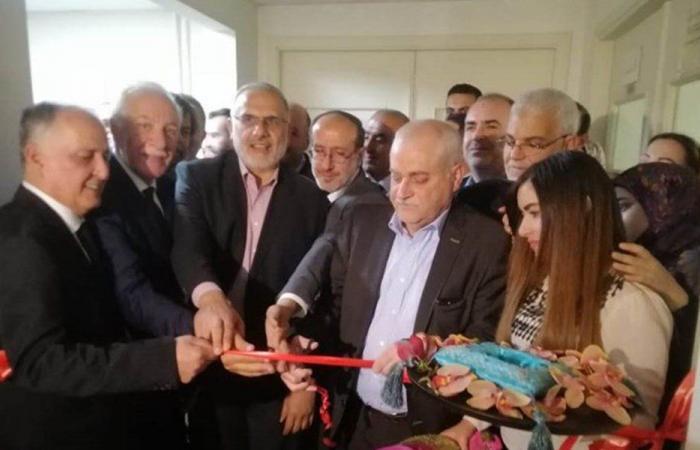 افتتاح أقسام جديدة في مستشفى الهرمل الحكومي