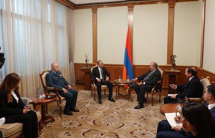 بو صعب التقى رئيس أرمينيا ورئيس حكومتها