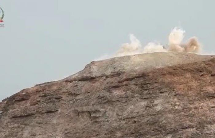 اليمن | شاهد.. مقاتلات التحالف تدك تحصينات الحوثيين في صعدة