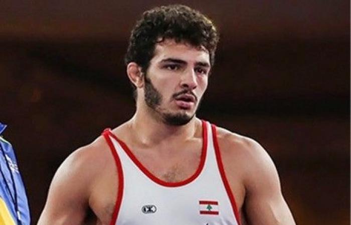 المصارع اللبناني دومينيك أبي نادر ينسحب من بطولة العالم رفضاً لمواجهة لاعب إسرائيلي