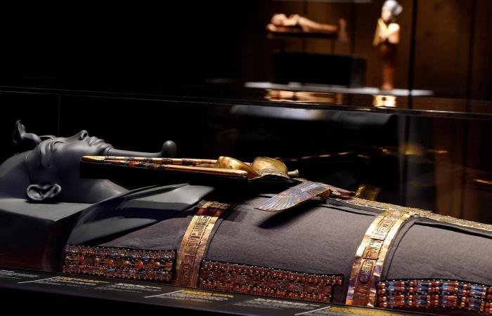 معرض توت عنخ آمون الأكثر استقطابا للزوار بتاريخ فرنسا