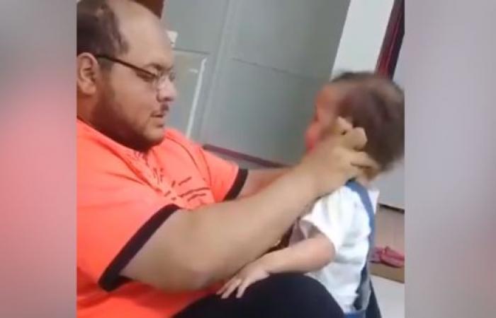 """الخليح   فيديو الرضيعة """"المعذبة بلا رحمة"""" يشعل مواقع التواصل"""