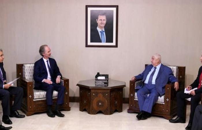 سوريا   مبعوث الأمم المتحدة يبحث في دمشق تشكيل اللجنة الدستورية
