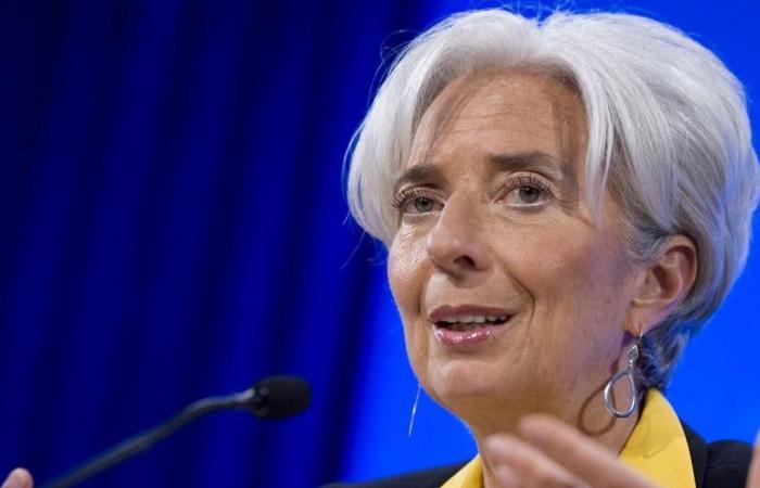 لاغارد تتحدث عن غيمة كبيرة على الاقتصاد العالمي