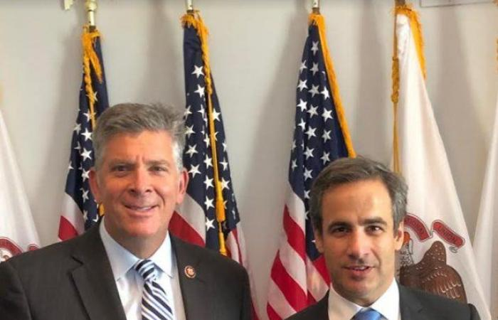 معوض في واشنطن يجري لقاءات بارزة مع أعضاء في الكونغرس لدعم لبنان