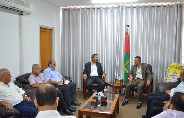 فلسطين | اتحاد المقاولين ووزارة الاقتصاد يتفقان على ضرورة حل أزمات المقاولين