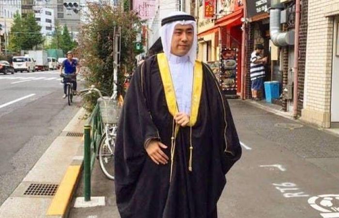 الخليح | بالصور.. يابانيون يحتفلون باليوم الوطني السعودي
