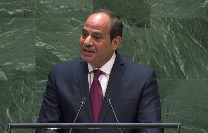 مصر   السيسي: أطلقنا خطة واسعة وشاملة ضد الإرهاب