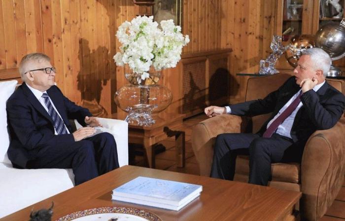 فرنجية عرض الأوضاع مع سفيري بريطانيا وروسيا
