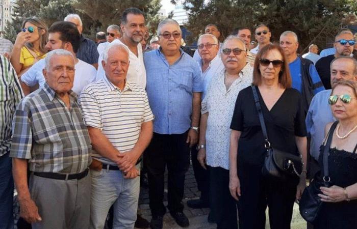 عبد الله في اعتصام الدفاع عن المستأجرين: لصياغة خطة اسكانية