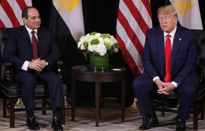 مصر | ترمب: الفوضى في مصر انتهت بقدوم السيسي