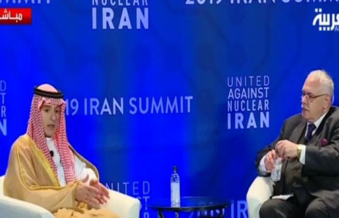 الخليح | الجبير: غريب أن إيران الوحيدة التي لم تستهدفها القاعدة