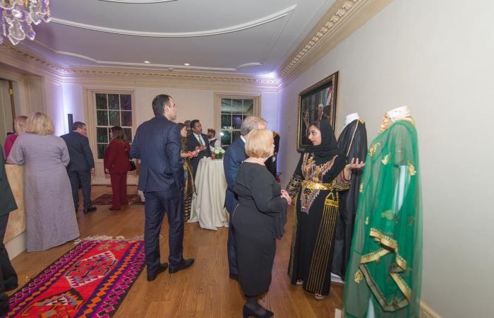 الخليح | الأميرة ريما تلتقي جنودا مصابين باليوم الوطني السعودي